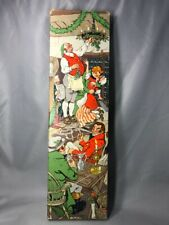 1938 Interwoven Stocking Co Christmas Conrad Dickel Illustrated Box Advertising