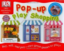 Dk Pop-Up Play Shopping Game - New!
