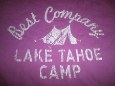 BEST COMPANY 80  LAKE TAHOE CAMP  PANINARI SURF MEMORABILIA SHIRT VINTAGE RAR