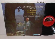 ALP 1743 Schubert Syms 3 & 5 Royal Philharmonic Orchestra Sir Thomas Beecham S/C