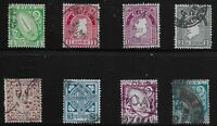Ireland Scott #65-70, 73 & 76, Singles 1922-23 FVF Used