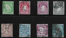 Ireland Scott #65-70, 73 & 76, Singles 1922-23 FVF Used