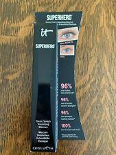 New It Cosmetics Superhero Elastic Stretch Volumizing Mascara Super Black $25