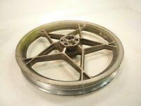 """79 Suzuki GS850 Front Wheel 19"""" X 1.85"""" / OEM Aluminum Alloy Mag Magnesium Rim"""