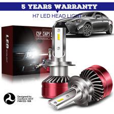 60W 12000LM H7 LED Car Headlight Conversion Canbus Bulb Beam 6000K Kit HID IDW