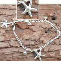 HOT! Women Starfish Ankle Chain Anklet Bracelet Foot Jewelry Sandal Beach Chain