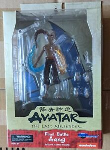 Diamond Select Avatar Last Airbender Final Battle Aang Deluxe Figure-Ships Today