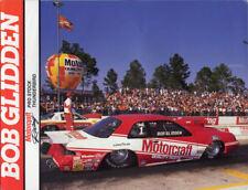 """Bob Glidden 1989 """"Motorcraft"""" Ford Thunderbird ORIGINAL Vintage HANDOUT!!"""