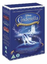 CINDERELLA Trilogy Bluray Movie Collection Boxset Part 1 2 3 Original Disney New