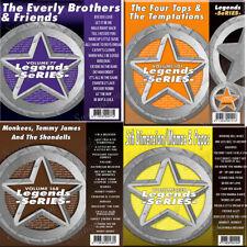 LEGEND SERIES KARAOKE CD+G 4 Disc SET Vol-77+101+168+220 NEW IN VINYL w/PRINT