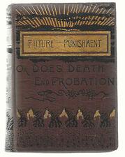 FUTURE PUNISHMENT  EX++   1886   Rev William Cochrane D.D.  Leather bound  BK
