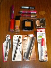 LOT OF 12  ASSORTED MAKE UP-ALMAY, NYC, MAYBELLINE, L'OREAL, REVLON & RIMMEL