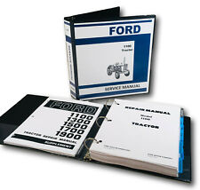 Ford 1100 Tractor Service Repair & Supplement Manual Technical Shop Book