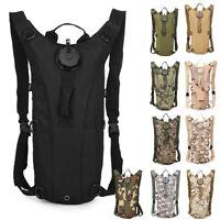 3L Outdoor Camping Hiking Climbing TPU Water Bladder Bag BackPack Hydration Bag