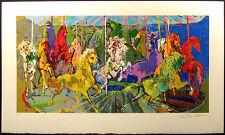 "LeRoy Neiman""Carousel"" Hand Signed Serigraph w/Original COA Paper Make an Offer"