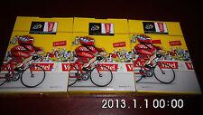 LOTDE 3 JEUX 54 KARTEN VITTEL WASSER OFFIZIELL TOUR DE FRANCE RADFAHRER