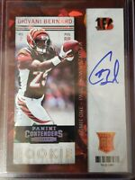 2013 Panini Contenders Giovani Bernard Rookie Ticket 11/21! RC on card auto SSP
