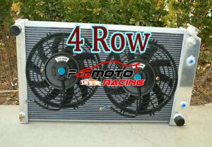 Radiator + Fan FOR 70-81 Chevy Camaro/75-79 Nova/68-73 Chevelle/68-77 El Camino