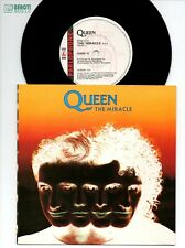 """QUEEN THE MIRACLE 7"""" VINYL SINGLE UK MINT ORIGINAL CARD SLEEVE ARCHIVE QUALITY"""