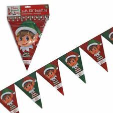 Christmas Plastic 1-5 m Party Banners, Buntings & Garlands