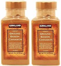 Kirkland Signature Ground Saigon Cinnamon 303g Packed in USA 2 Pack