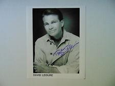 """Empty Nest"" David Leisure Hand Signed 8X10 B&W Photo Todd Mueller COA"