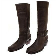 Wolky Brown Leather Tall Women's Boots Laredo 41 US 9- 9.75 NEW