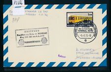 15666) LH FF Frankfurt - Moskau 5.2.72, Karte EF 1DM Berlin U-Bahn