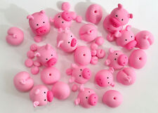 PIGS IN MUD EDIBLE CAKE DECORATIONS - SEE DESCRIPTION FOR DETAILS - AWESOME!!