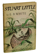 Stuart Little by E.B. WHITE ~ First Edition 1945 ~ 1st State Jacket ~ EB