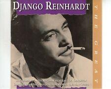 CD DJANGO REINHARDTthe greatEX PORTUGAL (A3588)
