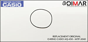 Casio Gasket / Back Seal Rubber, o-Ring, For AQ-450 - MTP-3040