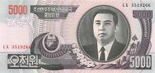 Korea North 5000 won 2006 Unc pn 46b