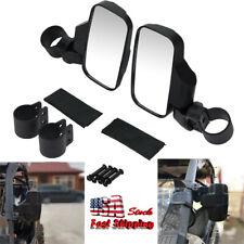 Rear Side View Mirror Kit Fit 1.75'' 2'' Clamp UTV Polaris Ranger 400 500 800 XP