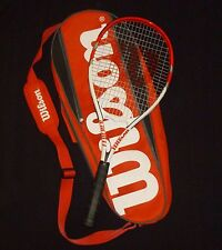 Wilson Federer Adult Strung Tennis Racket, 4 3/8 With Shoulder Bag  #4211