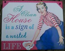 1950s Pictorial Decorative Plaques & Signs