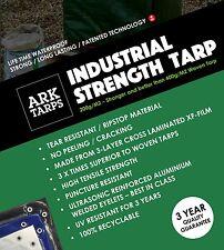 Industrial Strength XF Tarp - Ultra Strong Rip-Stop Eyelets - 12m x 15m