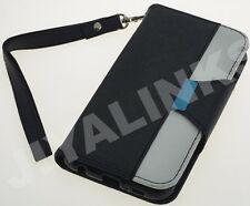 FLIP WALLET LEATHER CASE COVER FOR APPLE iPHONE MODELS 4, 4S, 5 , 5S, 6, 6plus
