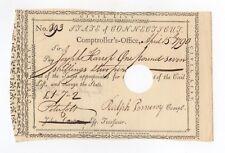 1790 Payment Order - Ralph Pomeroy & Peter Colt