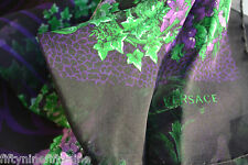 NEW AUTHENTIC VERSACE SILK CHIFFON SCARF / WRAP MADE IN ITALY Gift
