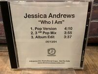 Who I Am by Jessica Andrews (CD, PROMO Single)