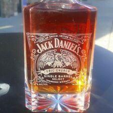 Jack Daniel Eric Church crystal decanters last one