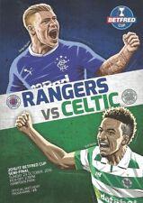 Rangers Away Team Final Football Programmes