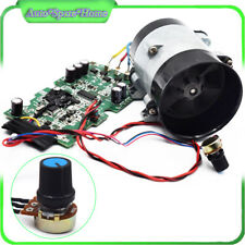 12V Car Auto Electric turbine power Turbo charger Tan Boost Air Intake Fan Great