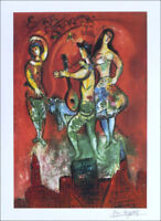 Marc Chagall CARMEN Litho Print Signed Numbered COA Free Ship