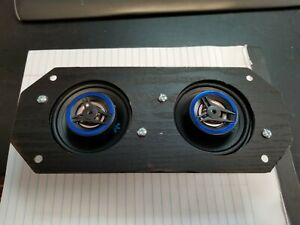 1965 Mustang 1966 Ford Mustang AM FM front Dash Speaker Dual Type