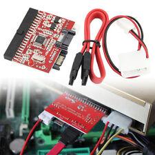 IDE / SATA Datenübertragungskabel Parallel Port Serial Port Converter Adapter#~