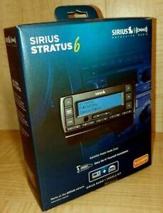 Sirius XM Stratus 6 Satellite Radio Receiver Complete Car Kit SDSV6V1 New In Box