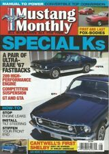 MUSTANG MONTHLY 2011 AUG - GT K-CODES, 428CJ GT/CS, NEW SHELBY GTS