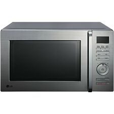 LG 32L 900W 3 in 1 S/Steel Convection Microwave Oven w/ Grill MJ3284UAB $599 RRP